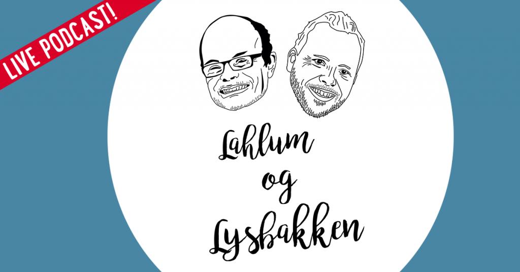 Lahlum og Lysbakken. Illustrasjon.