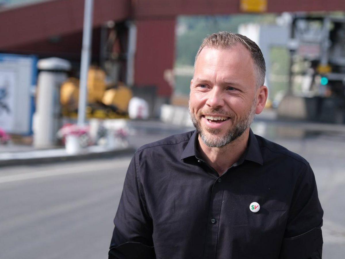 Partileder Audun Lysbakken. Foto